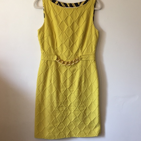 aa19fbf3dad Milly of New York sleaveless dress with gold chain